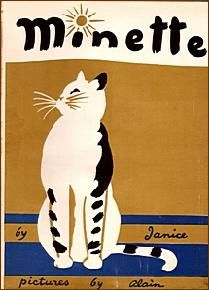 """Minette""  by Janice, illustrated by Daniel Brustlein (Alain), 1959"