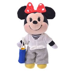 Disney Plush doll nuiMOs Costume Case Disney Store Limited Japan NEW