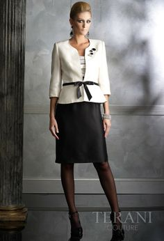 Mother of the Bride Suits | TERANI - 2011 MOTHER OF THE BRIDE 2-PIECE SUIT- 35387S ...