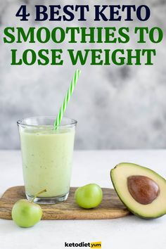 4 Best Keto Smoothies To Lose Weight - Smoothies are a great quick-and-easy keto breakfast or grab-and-go snacks that make sticking to the keto diet easy.