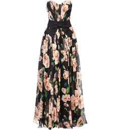 Floral print maxi dress by Dolce ....My perfect spring dress.