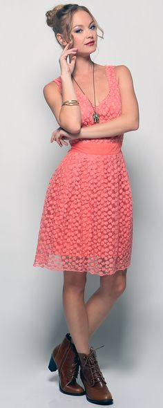 The Endangered Coral Dress