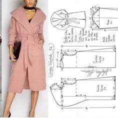 "Dikişmeleği on Instagram: ""Alinti Diger sayfam👉👉 @miniktasarimlar_dikismelegi  #sew #sewing #sewinglove #pattern #dresmaking #seamdress #fashion #burdastayle #dikis…"" Sewing Coat, Fashion Sewing, Body Measurements, Diy Clothes, Ideias Fashion, Jumpsuit, Crochet Dresses, Suits, Jackets"