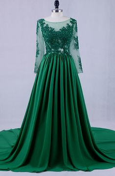 modest long sleeves round neck A-line formal long #prom #promdress #dress #eveningdress #evening #fashion #love #shopping #art #dress #women #mermaid #SEXY #SexyGirl #PromDresses