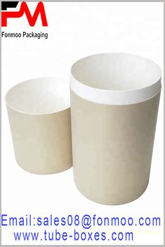 White paper tube packaging boxes, no printing, can be used in a variety of products. The diameter of the paper tube is customizable and the diameter and height of the paper tube package can be determined from the product Packaging Manufacturers, Packaging Boxes, Box With Lid, Kraft Paper, White Paper, Tube, Printing, Products, Gadget