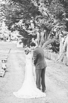 Our beautiful bride Mari in a gown from Jin Wang Bridal #jinwangbride  Photography: onelove photography - onelove-photo.com  Read More: http://www.stylemepretty.com/california-weddings/2015/04/13/rustic-summer-wedding-in-marin-county/