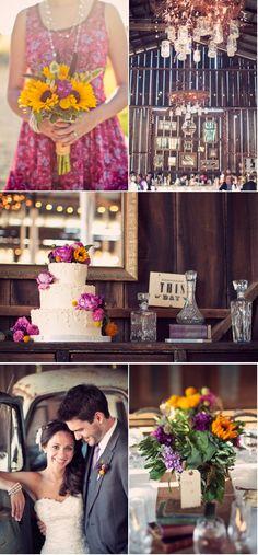 Dana-Powers House Barn Wedding from Panacea + Jake Odening | Style Me Pretty