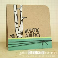 Paper Smooches SPARKS: September 10-16 Designer Drafts Challenge--card by SPARKS DT Jackie--using the PS stamp set Autumn Groves