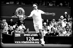 ROGER FEDERER.  The greatest tennis player of all time.