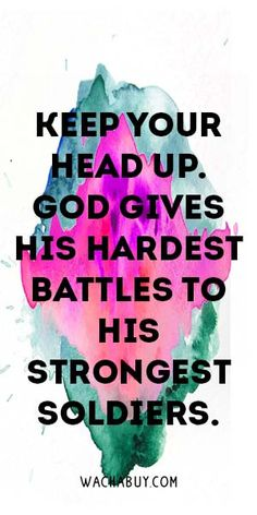 #quote #inspiration / Strength Quotes To Never Give Up