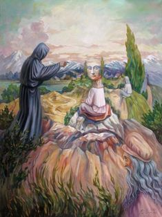 Stare at Oleg Shuplyak's painting, you may find one more illusion element that is hiding inside! Shared Stunning Illusion Paintings by Oleg Shuplyak here. Optical Illusion Paintings, Optical Illusions Pictures, Illusion Pictures, Art Optical, Illusion Kunst, Illusion Art, Paul Gauguin, Oleg Shuplyak, One Photo