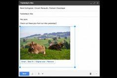 Versão do Gmail para PCs pode anexar fotos de smartphones