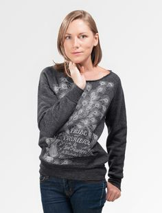 Pride and Prejudice sweatshirt : Purchase of this sweatshirt sends one book to a community in need