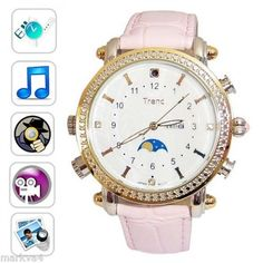 Spy watch--hidden camera for ladies--i want one...