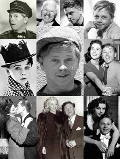 Mickey Rooney (born Joseph Yule, Jr,; September 23, 1920 — April 6, 2014) was an American film actor and entertainer whose film, television, and stage appearances span nearly his entire lifetime. He was a superstar as a teenager for the films in which he played Andy Hardy opposite Judy Garland. He was married eight times. His wives included actresses Ava Gardner & Martha Vickers.