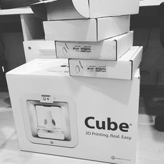 Something we liked from Instagram! #newtoy #gadget #technology #innovate #create #design #3dprinter #excited #letswork #cube #home3Dprinter by angelocao check us out: http://bit.ly/1KyLetq