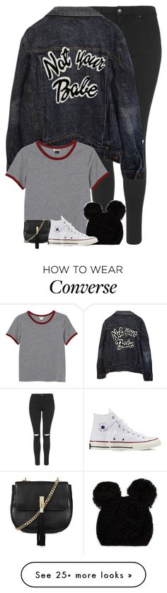 """""""Untitled #5632"""" by fanny483 on Polyvore featuring Topshop, Monki and Converse"""