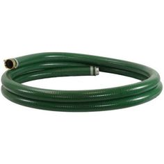 DuroMax 3 inch x 20' Gas Water Pump Suction Hose, Green