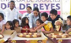 DIF Estatal Oaxaca comparte la tradicional celebración de Día de Reyes en la capital oaxaqueña