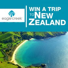 Enter the Eagle Creek's Win a Trip to New Zealand Sweepstakes to win the Grand Prize: a trip for two to New Zealand including airfare from Los Angeles, San Francisco, Vancouver, or Honolulu, hotel, air travel within New Zealand between Auckland and Queenstown, ground transportation, and an excursion to Rotorua, plus a set of Eagle