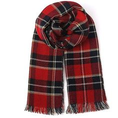 Yoins Red Wrap Scarf in Check Pattern (1,250 INR) ❤ liked on Polyvore featuring accessories, scarves, yoins, red, wrap shawl, plaid shawl, plaid scarves, red plaid scarves and tartan plaid shawl