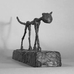 Alberto Giacometti - Artist 20th c. - Sculpture - Cat