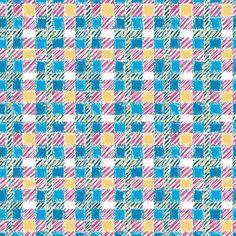 Crosshatch (Regatta) - Plaid Texture Fabric - The Textile District design to custom print for home decor, upholstery, and apparel. Pick the ground fabric you need and custom print the designs you want to create the perfect fabric for your next project. https://thetextiledistrict.com #designwithcolor #fabrics #interiordesign #sewing