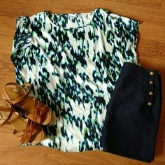 I just discovered this while shopping on Poshmark: Liz Claiborne Blouse. Check it out! Price: $12 Size: XL