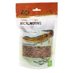 Rzilla Reptile Munchies Mealworms (3.75OZ - 24-CS)