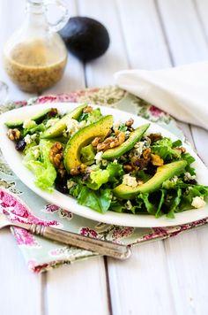Cranberry Avocado & Blue Cheese Salad