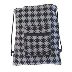 Rucksack Hahnentritt anthrazit, Backpack Houndstooth anthracite Baby Rucksack, Drawstring Backpack, Backpacks, Bags, Fashion, Handbags, Moda, Fashion Styles, Backpack