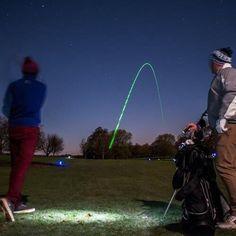 Glow Golf Balls with Glow Insert! Golf Flag, Golf Putting, Glow Sticks, Color Mixing, The Darkest, Balls, Night