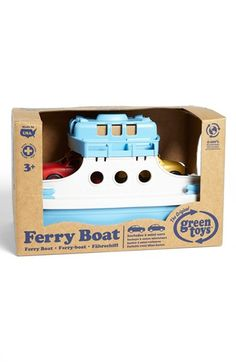 Green Toys Ferry Boat Toy available at #Nordstrom Pretty sure this is one of the only GreenToys Emerson doesn't have! So cute!