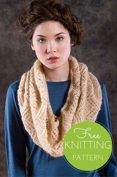 Anza Cowl Free Knitting Pattern