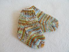 Warm and snuggly wool baby socks :)