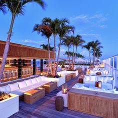 Inspiration For Your Patio - The hotel's rooftop is the piece de resistance with its beautiful, 26-stool bar, ample lounge-seating and private pool.