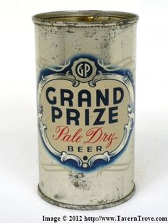 Grand Prize Pale Dry Beer