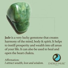 Jade Stone, View the Best Jade Stones from Energy Muse Now                                                                                                                                                                                 More