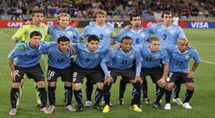 Uraguay 1 of 32 team of World Cup 2014 in Brazil.jpg