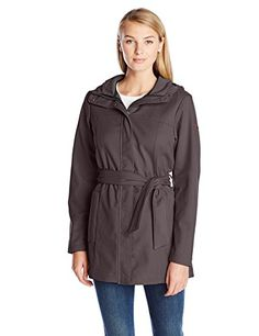 Columbia Women's Take To The Streets Trench, Mineshaft, $46.06 Free Shipping for Prime Members & Free Returns