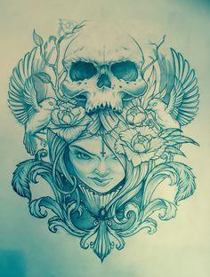 Tattoodesign by Martijn Rietbroek
