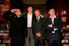 Bono, Liam Neeson, Declan Kelly, Gabriel Byrnes