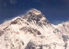 The world's highest peak, Mount Everest    http://whatisthewik.com/mountain/