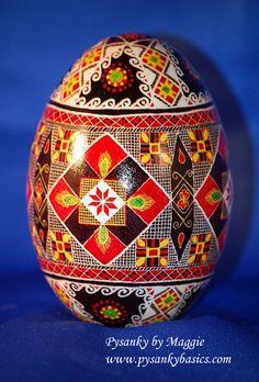 Goose Egg Pysanka | by www.pysankybasics.com
