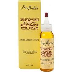 Shea Moisture Jam Black Castor Oil Hair Serum, 2 Oz