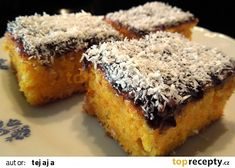 Czech Recipes, Wedding Catering, Chocolate, Carrot Cake, Banana Bread, Carrots, Deserts, Muffin, Coconut