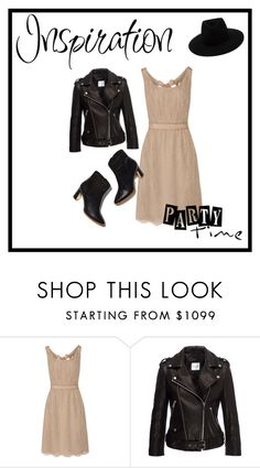"""Party time"" by aphrodite-884 ❤ liked on Polyvore featuring Valentino, Anine Bing, Rupert Sanderson and rag & bone"