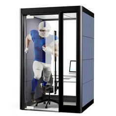 Spacio Office Mini Pods are a screen based solution which offers acoustic privacy spaces in the open plan office for concentrated work. Open Office Design, Corporate Office Design, Workplace Design, Mini Office, Office Environment, Sound Proofing, Plan Design, Office Phone, Office Meeting