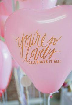 What the balloon said. #TreatYourself