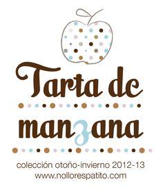 Nueva colección otoño ♥ invierno para bebés: Tarta de Manzana